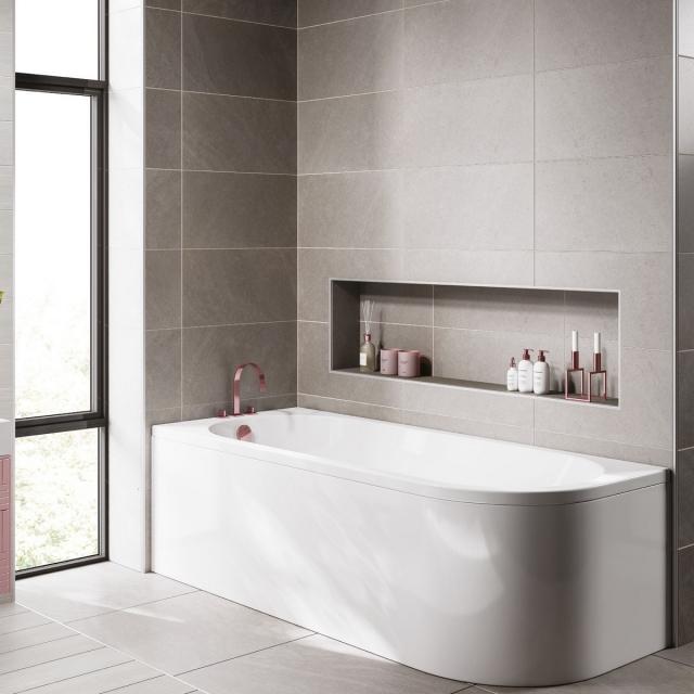 UK Bathrooms Essentials Freesia Single Ended Bath