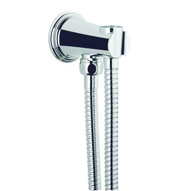 Crosswater Celeste Wall Outlet And Hose