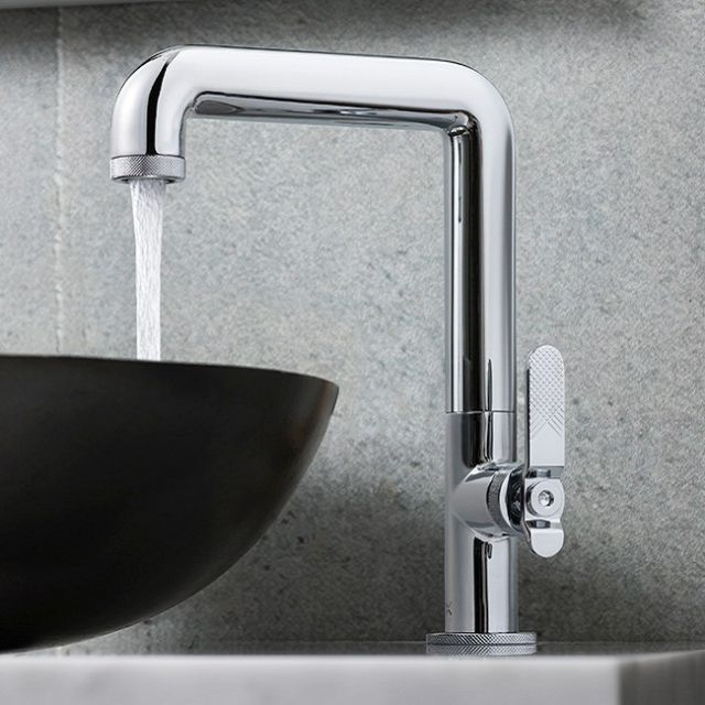 Crosswater Union Chrome Tall Basin Tap
