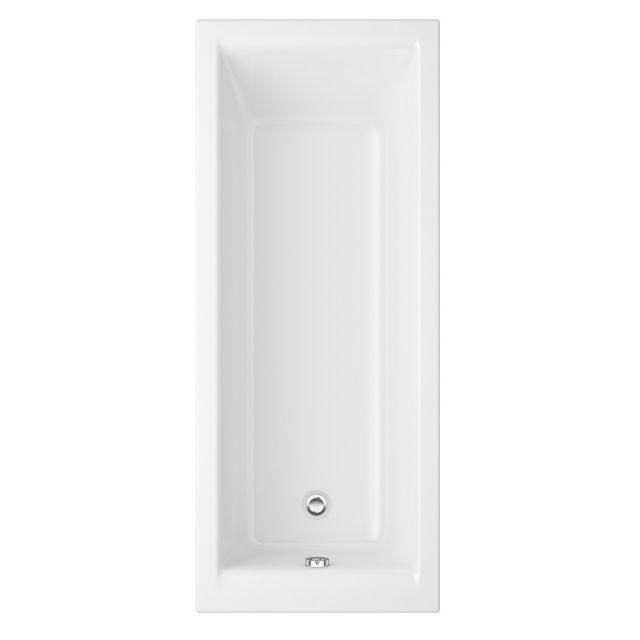 UK Bathrooms Essentials Iris Single Ended Bath - UKBESB00010