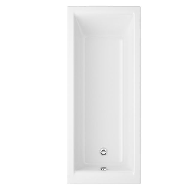 UK Bathrooms Essentials Orchid 1500mm Single Ended Bath