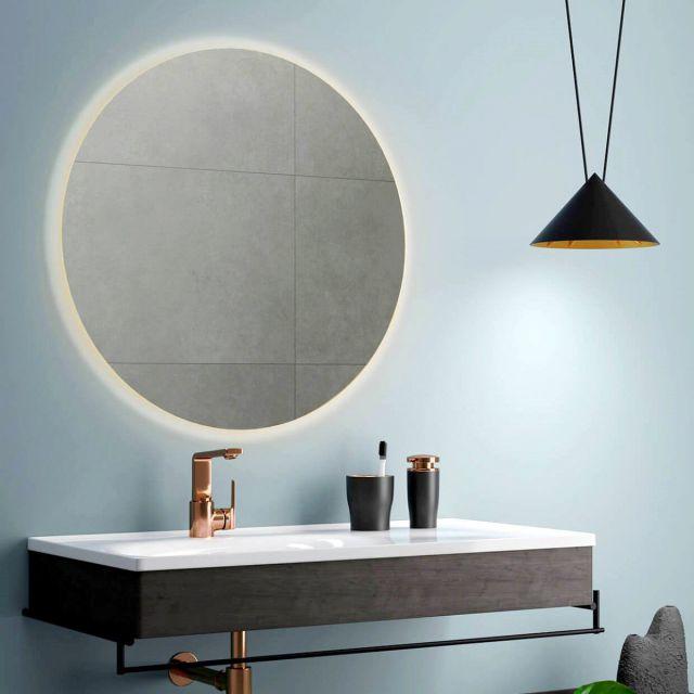 VitrA Equal Illuminated Round Mirror