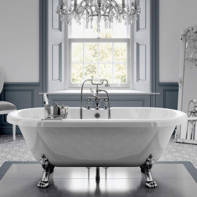 Trojan Clermont Double Ended Freestanding Victorian Bath