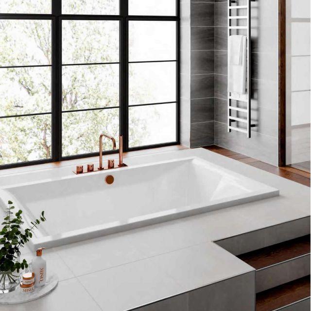Trojan Amare Inset Super Deep Bath