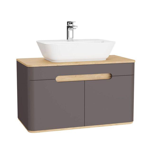 VitrA Sento 2 Door Large Vanity Unit for Washbowls