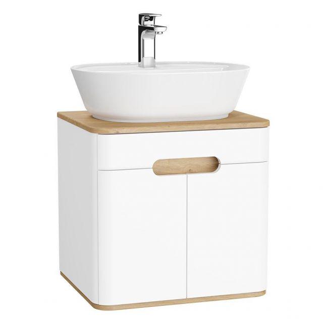 VitrA Sento 2 Door Small Vanity Unit for Washbowls - 62346