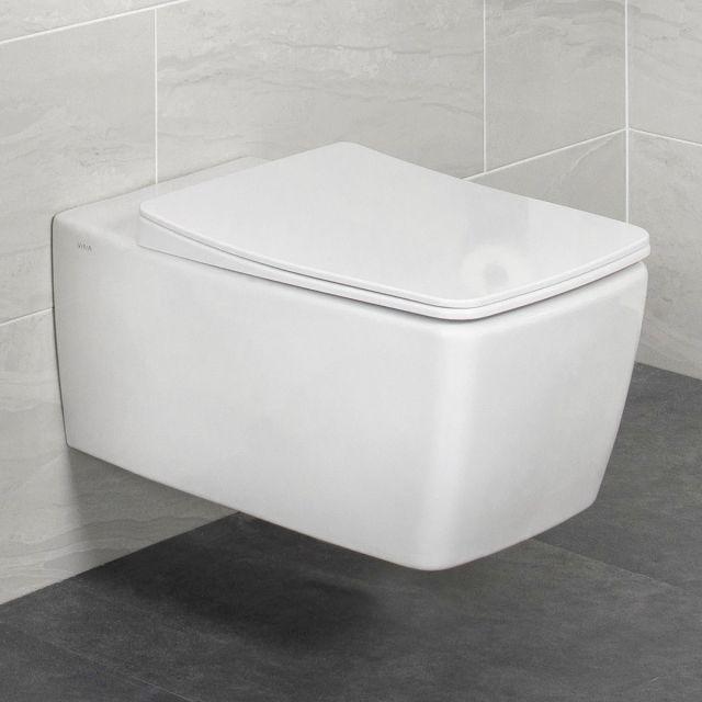 VitrA AquaCare Rimless Wall Hung Bidet Toilet
