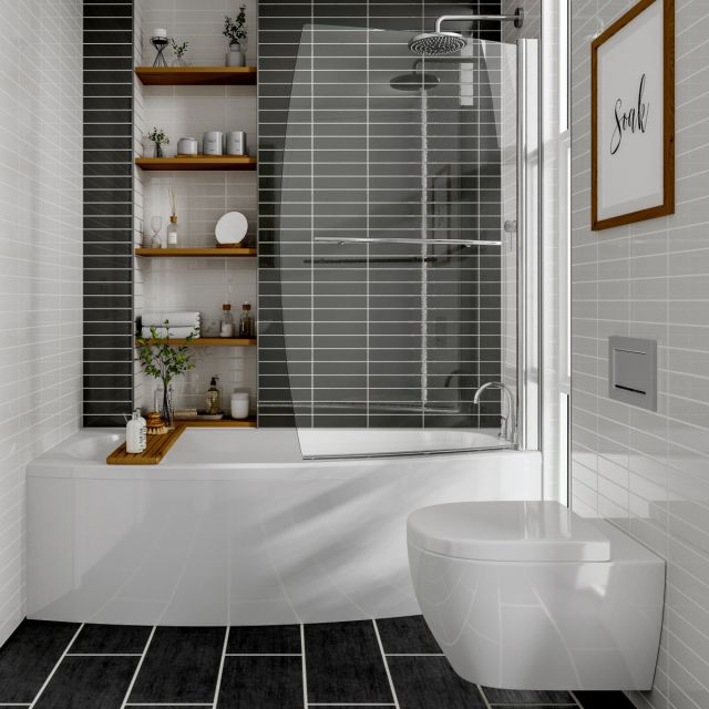 Trojan Space Saver Single Ended Bath