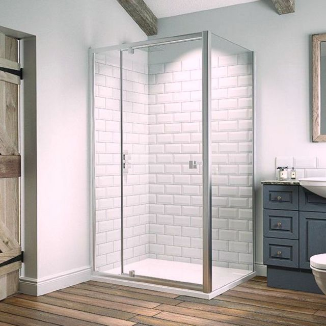 Kudos Original6 Pivot Door with Inline Panel