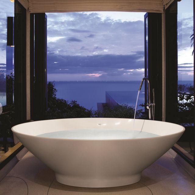 BC Designs Tasse Freestanding Cian Bath