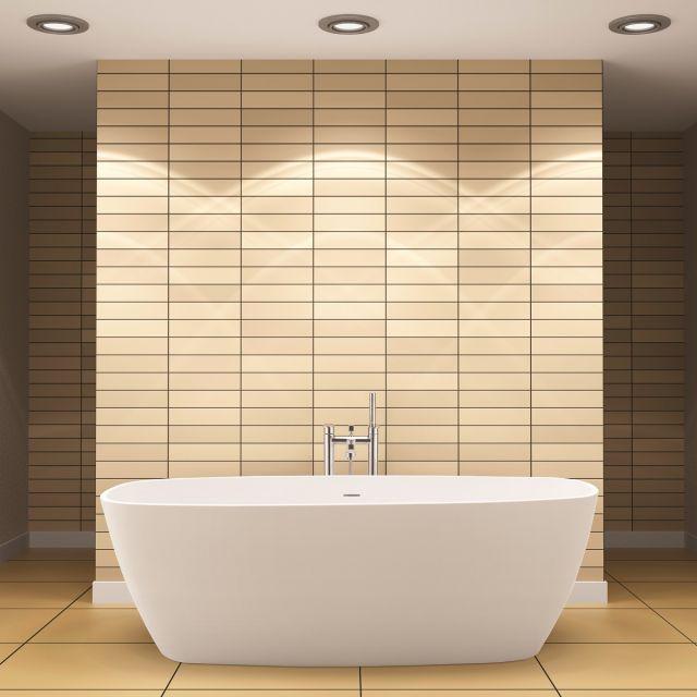 BC Designs Vive Freestanding Cian Bath