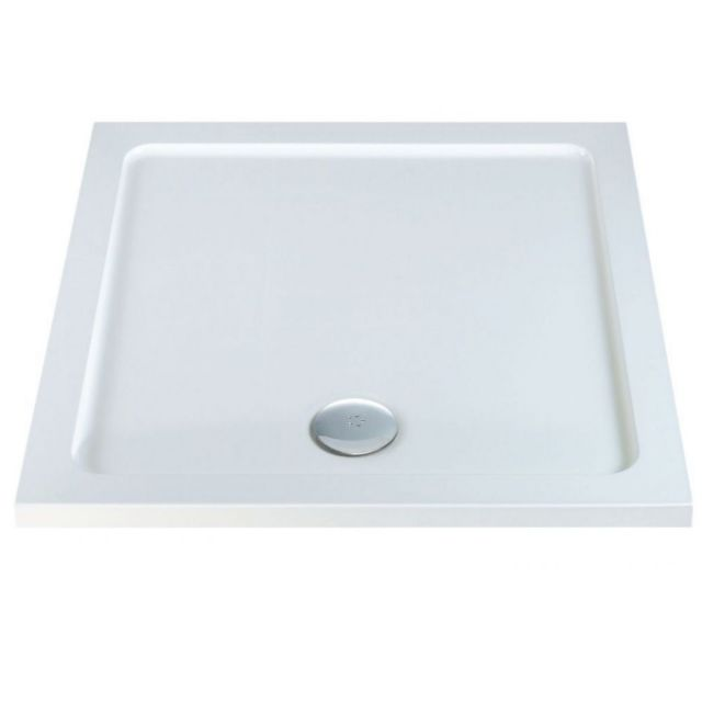 UK Bathrooms Essentials Square Shower Tray