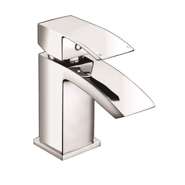 UK Bathrooms Essentials Lansley Cloakroom Basin Mixer Tap