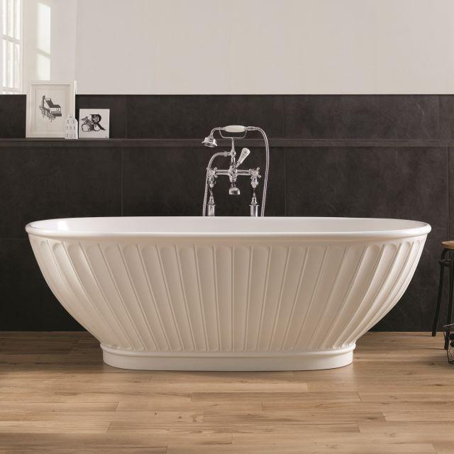 BC Designs Casini Traditional Style Freestanding Cian Bath