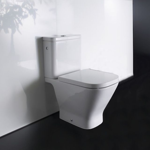 Roca The Gap Close Coupled Eco Toilet