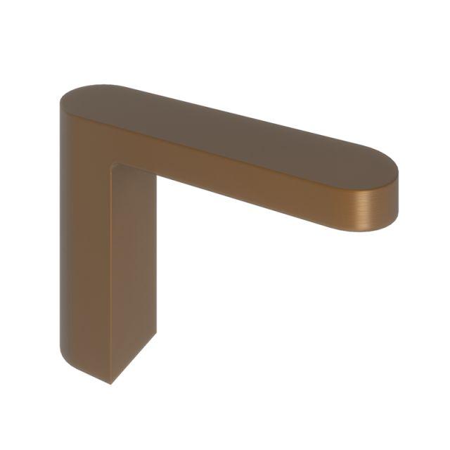 Abacus Ki Brushed Bronze Deck Mounted Bath Spout
