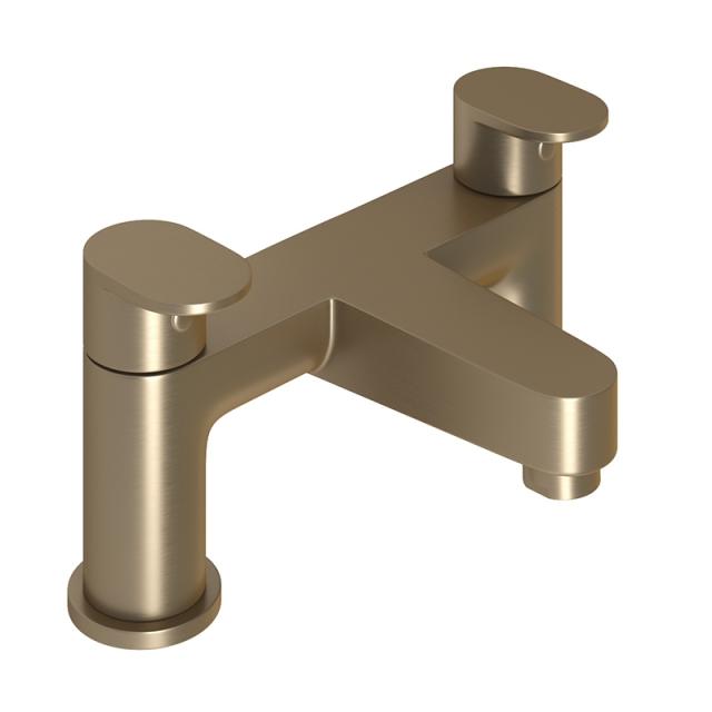Abacus Ki Brushed Nickel Deck mounted Bath Filler