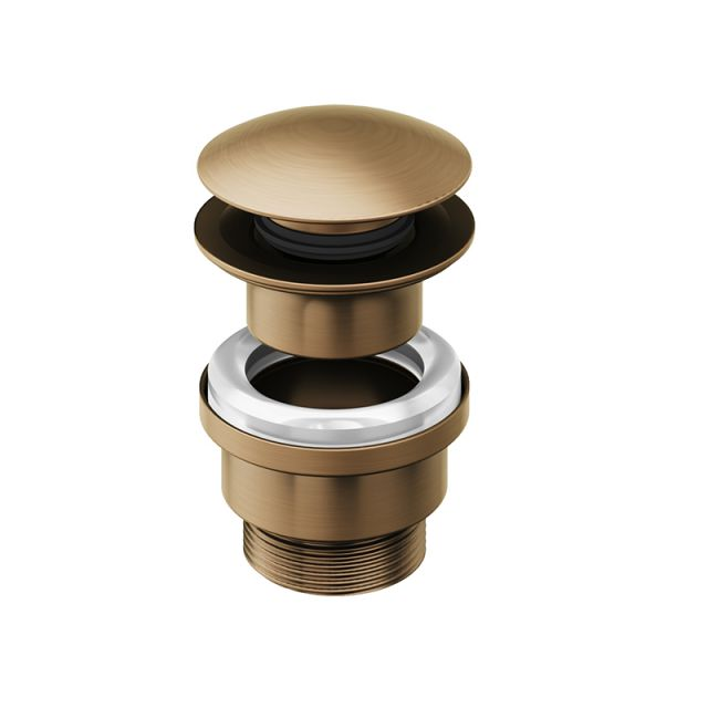 Abacus Universal Brushed Bronze Click / Freeflow waste