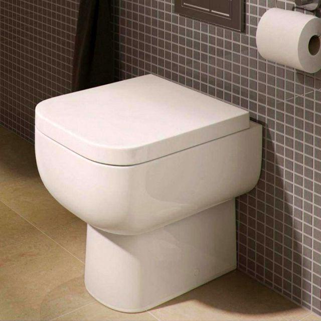 RAK Series 600 Back to Wall Toilet with Seat - SE17AWHA/014