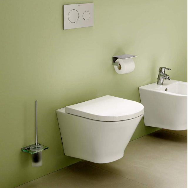 Roca The Gap Rimless Wall Hung Toilet