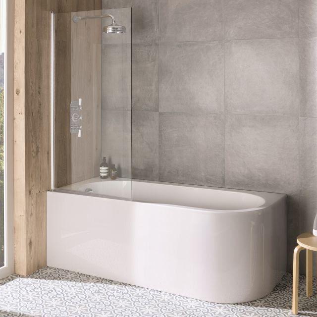 BC Designs Ancorner Acrymite Shower Bath