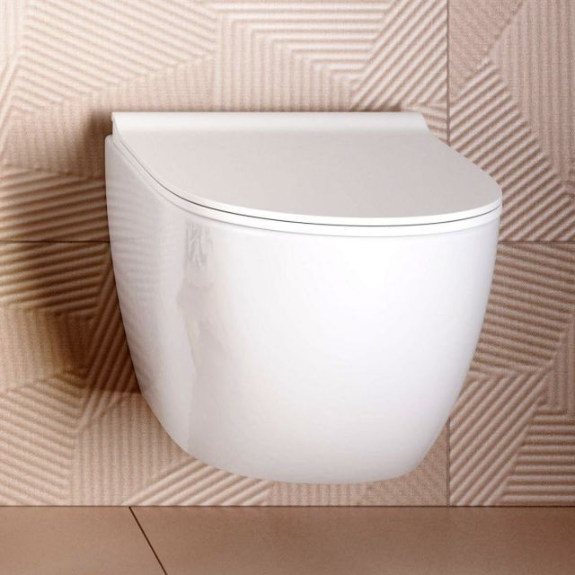 VitrA Sento Rimless Wall Hung Toilet - 77480030075