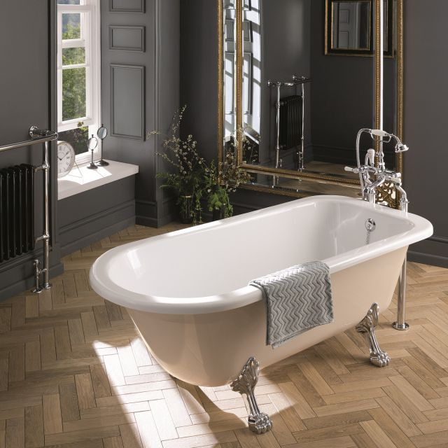 BC Designs Mistley Freestanding Single Ended Roll Top Bath