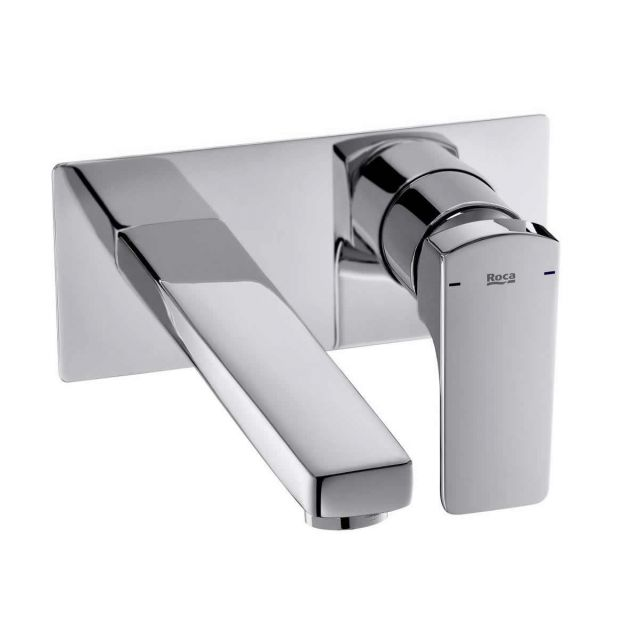Roca Escuadra Wall Mounted Basin Mixer Tap