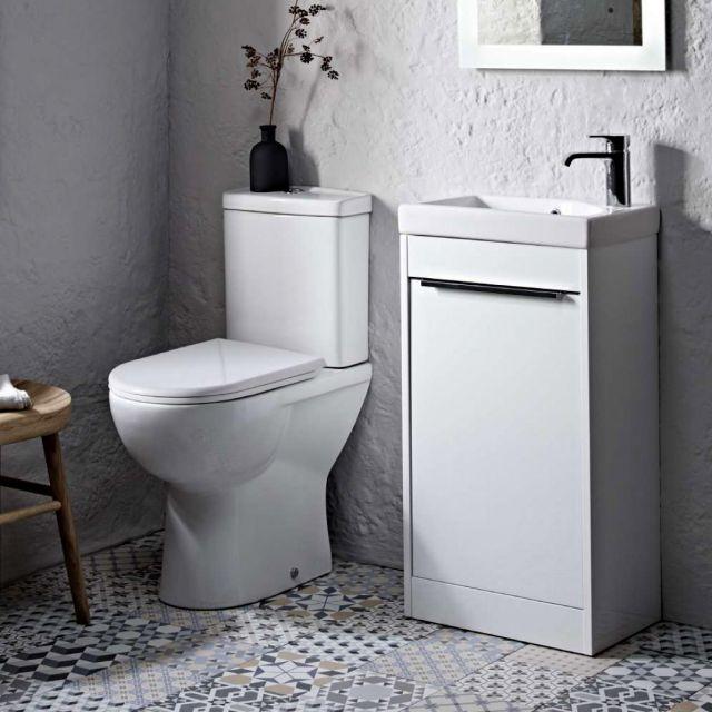 Tavistock MIcra Comfort Height Close Coupled Toilet - PC100S