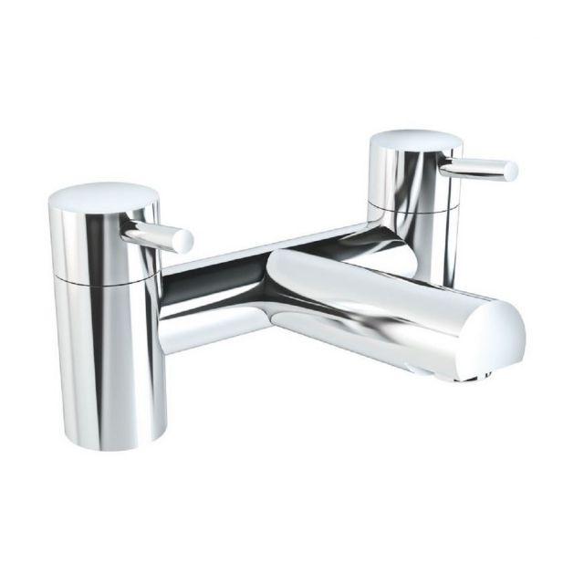 VitrA Minimax S Chrome 2-Tap Hole Bath Filler