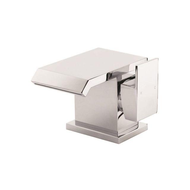 UK Bathrooms Essentials Greystone Basin Mixer Tap