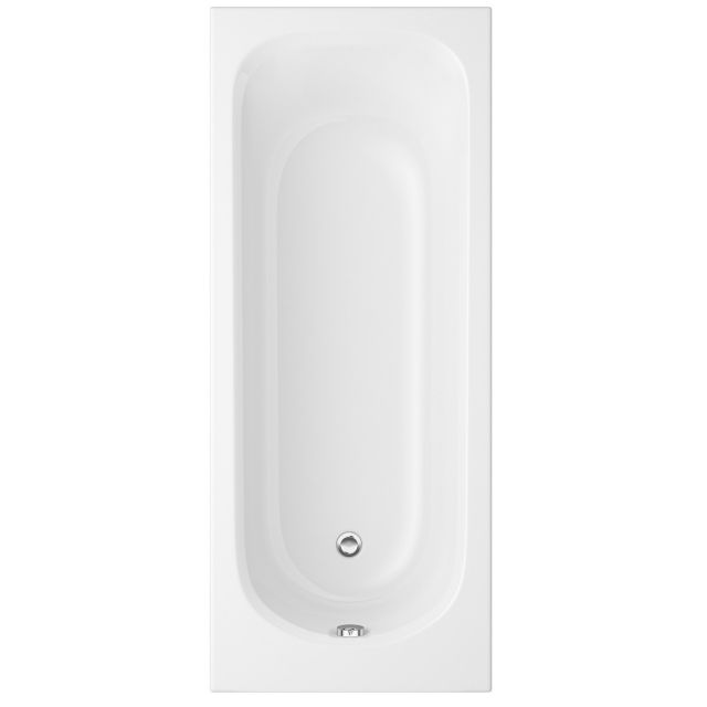 UK Bathrooms Essentials Lily Single Ended Bath