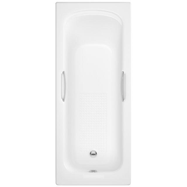 UK Bathrooms Essentials Fuchsia Single Ended Bath - UKBESB00007