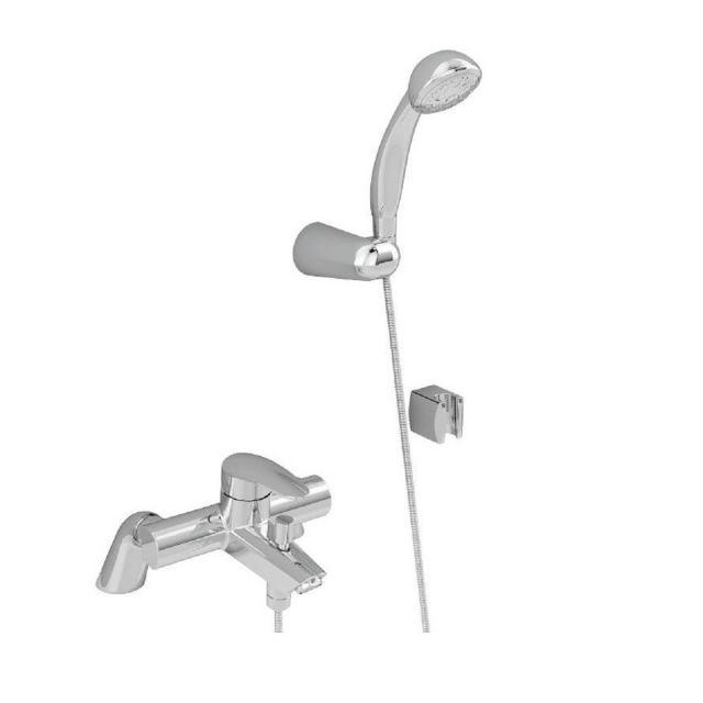 VitrA Dynamic S Chrome Bath Shower Mixer Tap - 40964