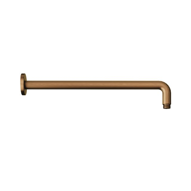 Abacus Emotion Brushed Bronze Round Fixed Wall Arm - TBTS-418-6038