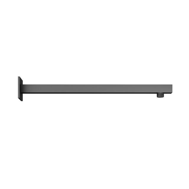 Abacus Emotion Matt Black Square Fixed Wall Arm