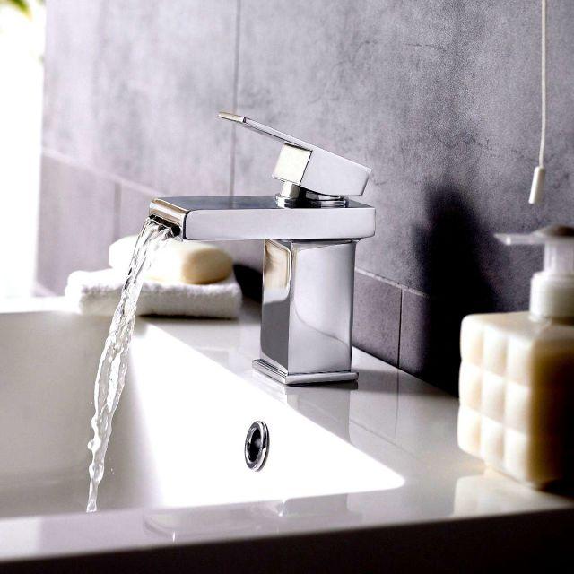 UK Bathrooms Essentials Dali Basin Mixer Tap