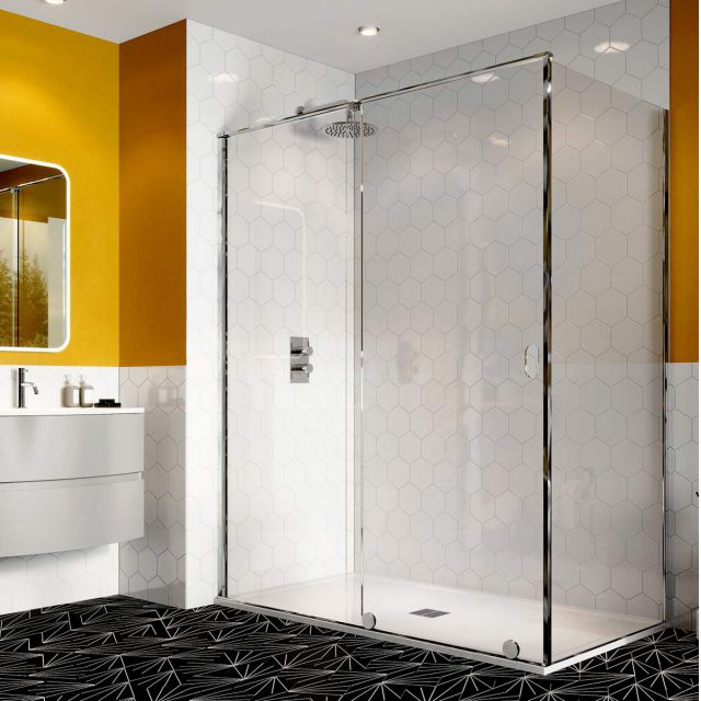 Crosswater Svelte 8 Sliding Shower Door