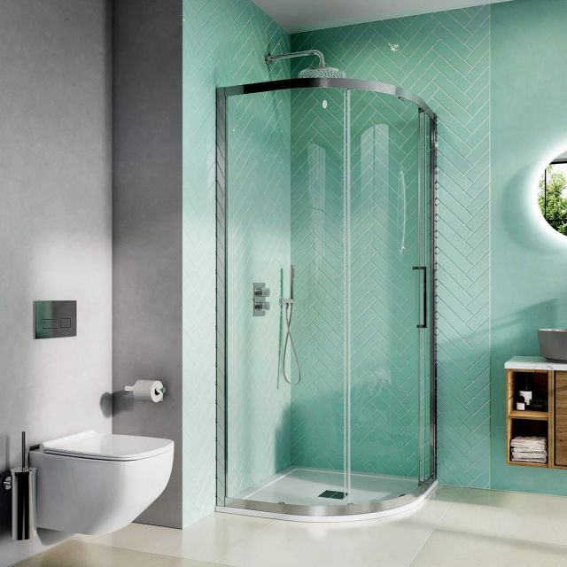 Crosswater Infinity 8 Single Door Quadrant Shower Enclosure