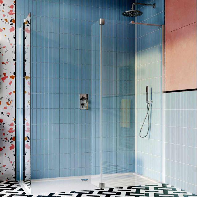 Crosswater Design 8 Walk In Shower Enclosure
