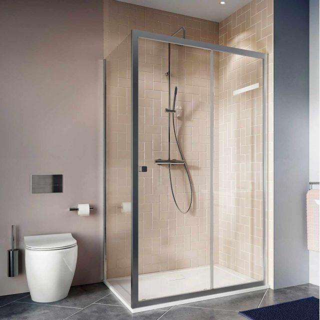 Crosswater Clear 6 Sliding Door Shower Enclosure