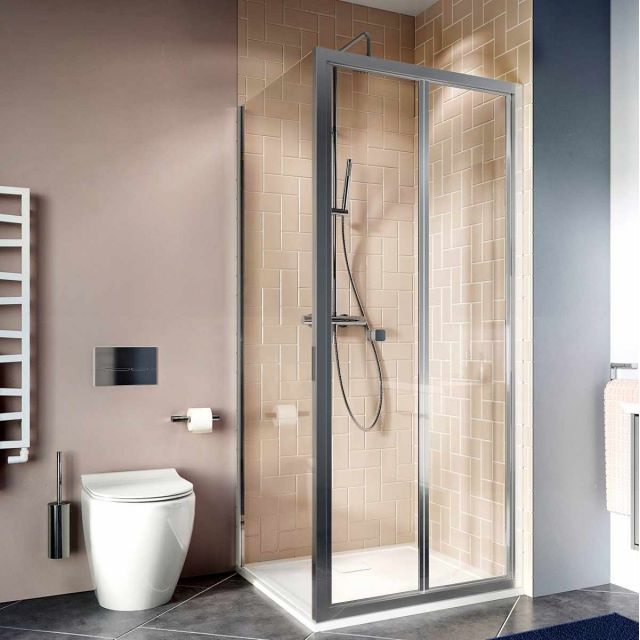 Crosswater Clear 6 Bi-fold Shower Door
