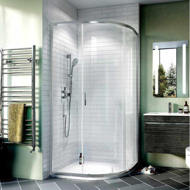 Crosswater Kai 6 Single Door Quadrant Shower Enclosure