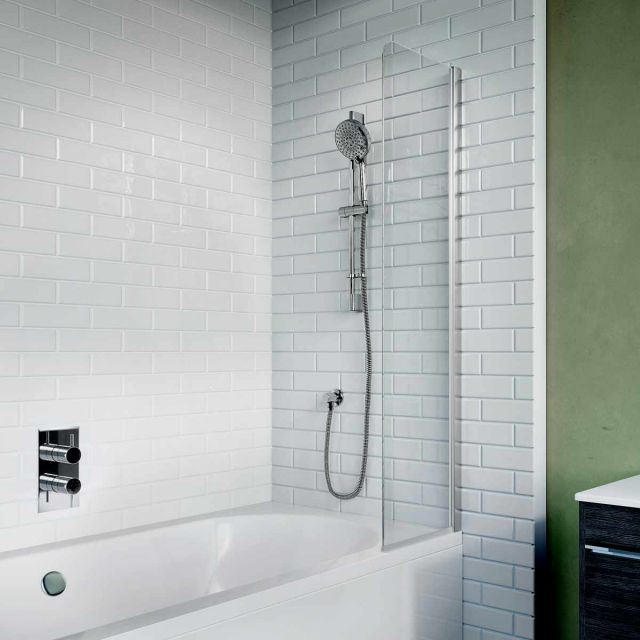 Crosswater Kai 6 Fixed Panel Bath Guard