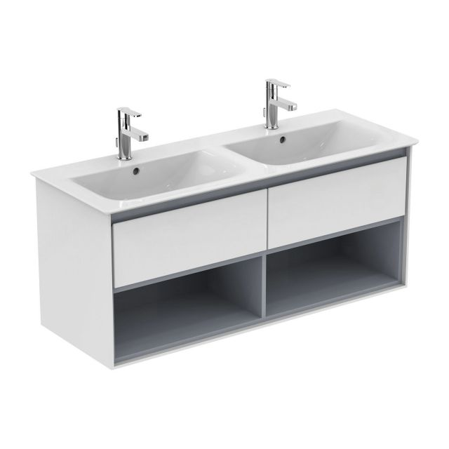Ideal Standard Concept Air Cube 124cm Double Vanity Basin
