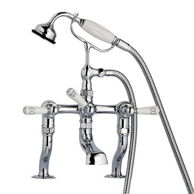 Swadling Invincible Deck Mounted Manual Bath Shower Mixer