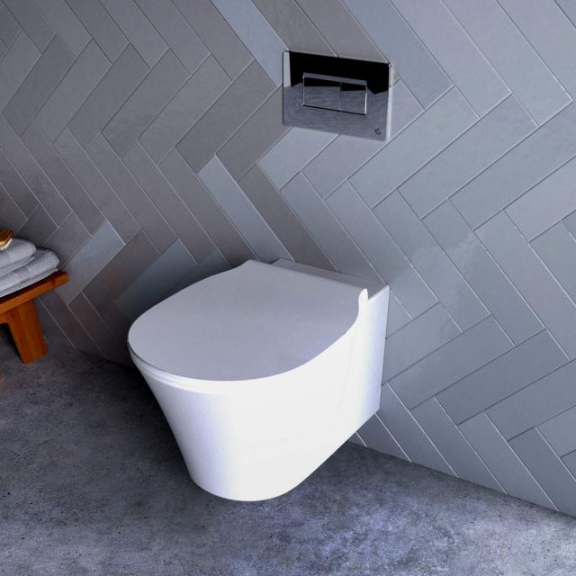Ideal Standard Concept Air Wall Hung Toilet with Aquablade - E079601