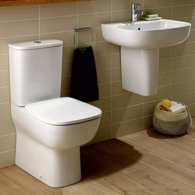 Ideal Standard Studio Echo Compact Close Coupled Toilet