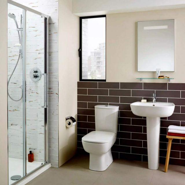 Ideal Standard Studio Echo Open Back Close Coupled Toilet - E158701