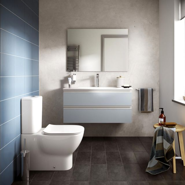 Ideal Standard Tesi Closed Back Toilet with Aquablade